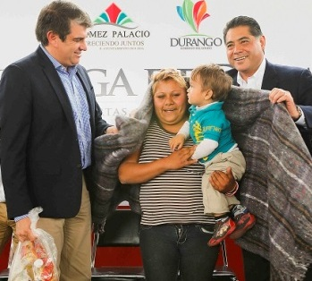 Photo of José Miguel Campillo Carrete; feliz por avance de miseria en Gómez Palacio