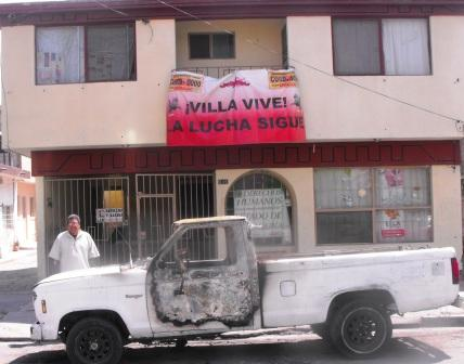 Photo of José Miguel Campillo Carrete; terrorismo contra Centro Cultural Villista