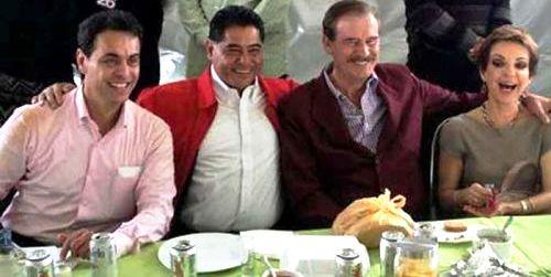 Photo of Ismael Hernández Deras; guateque al estilo narco