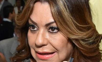 """Photo of Juana Leticia Herrera Ale, """"el gobernador (José Rosas Aispuro) está enfermito"""""""