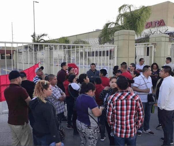 Photo of Huelga de los trabajadores de maquiladoras en Matamoros, Tamaulipas…
