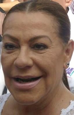 Photo of Juana Herrera; boquita de fuego