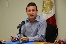 Photo of Gerardo Garza González, director del Sistema de Agua y Drenaje de Monterrey, exhibido en Programa televisivo…