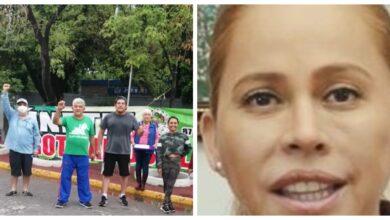 """Photo of Marina Vitela Rodríguez, terca en destruir El Parque Morelos, culpa a """"intereses externos"""" por sublevación ciudadana"""
