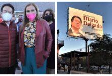 Photo of Marina Vitela Rodríguez, con dinero público paga propaganda a favor de Mario Delgado Carrillo
